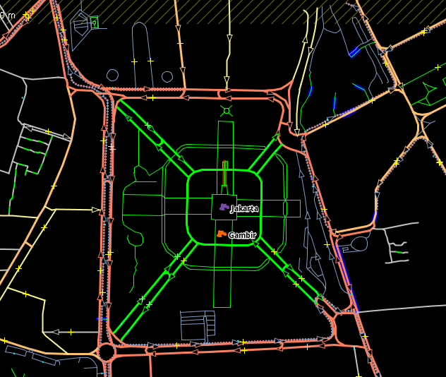 Extracting Road Networks From OpenStreetMap | W3Shaman Com